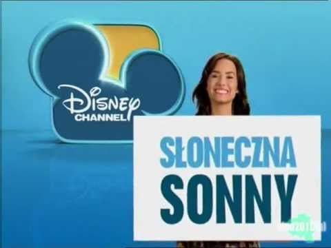 Disney Channel Poland - now - Sonny with a Chance ident