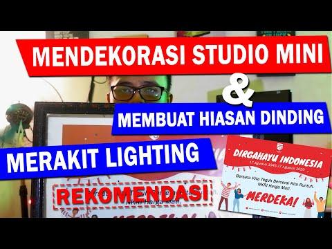 membuat-studio-youtube-baru-di-kamar-kreasi-hiasan-dinding-dan-lighting