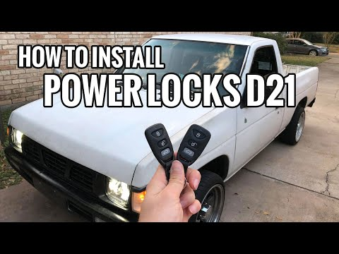 How to Install Power Locks in Nissan Hardbody D21