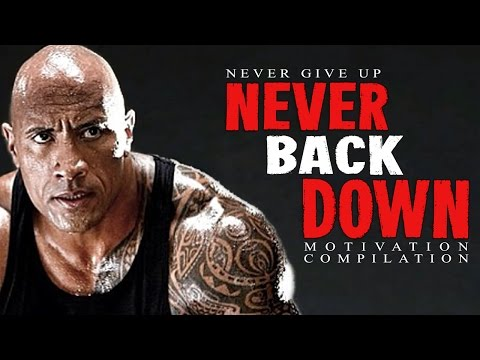 Best Motivational Speech Compilation EVER #6 – NEVER BACK DOWN – 30-Minute Motivation Video