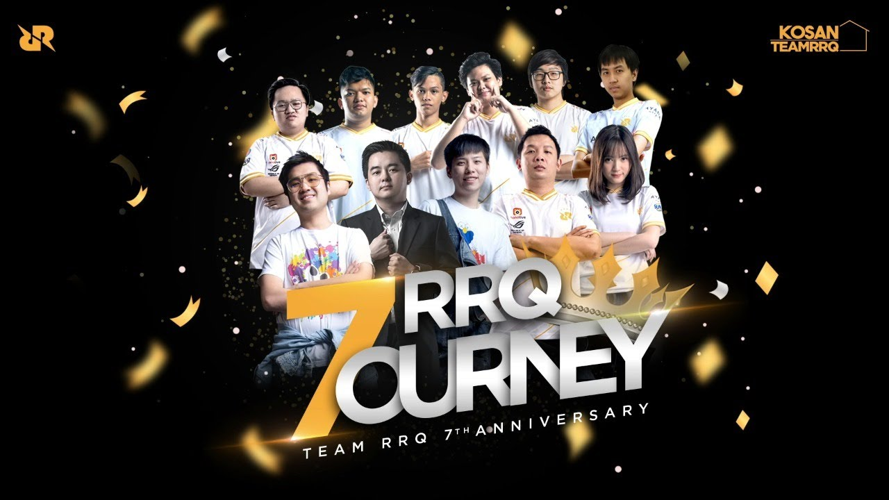 TEAM RRQ 7th ANNIVERSARY | #RRQ7OURNEY