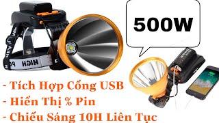 Đèn Đội Đầu Siêu Sáng Công Suất Lớn LS-1835 Chiếu Sáng Liên Tục 10H - Tuandentv.com - 085.9195.222