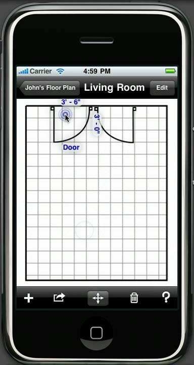 room w mark on call home interior designer iphone ipod touch app