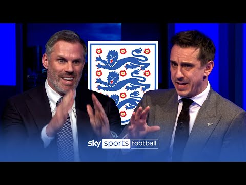 Carragher and Neville CLASH picking their England Euro 2020 squads! 😡🏴