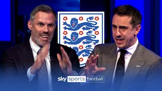 Carragher and Neville CLASH picking their England Euro 2020 squads! 😡🏴󠁧󠁢󠁥󠁮󠁧󠁿