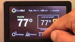 Rheem EcoNet Set Up Installation