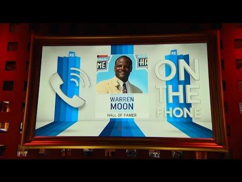 Hall of Famer Warren Moon Talks Tom Brady & Russell Wilson on The Show - 7/29/15