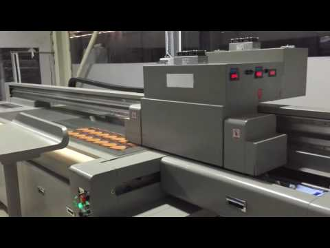 Temper Glass Printer Printing Video in Europe 2016