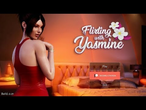 IS THIS GAME FOR REAL?!    FLIRTING WITH YAZMINE DEMO