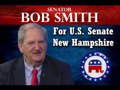 Interview with Bob Smith, (R) Candidate for US Senate - New Hampshire - Seg 1