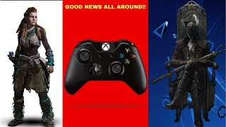 Playstation Continues To Give Gamers Incentive & Microsoft Announces A New Controller!