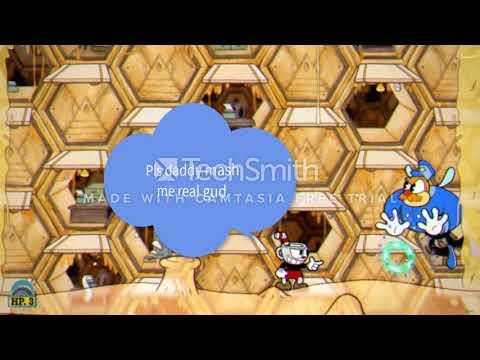 Cuphead - Rumor Honeybottom Regular Difficulty Police Bee Quick Kill Tutorial