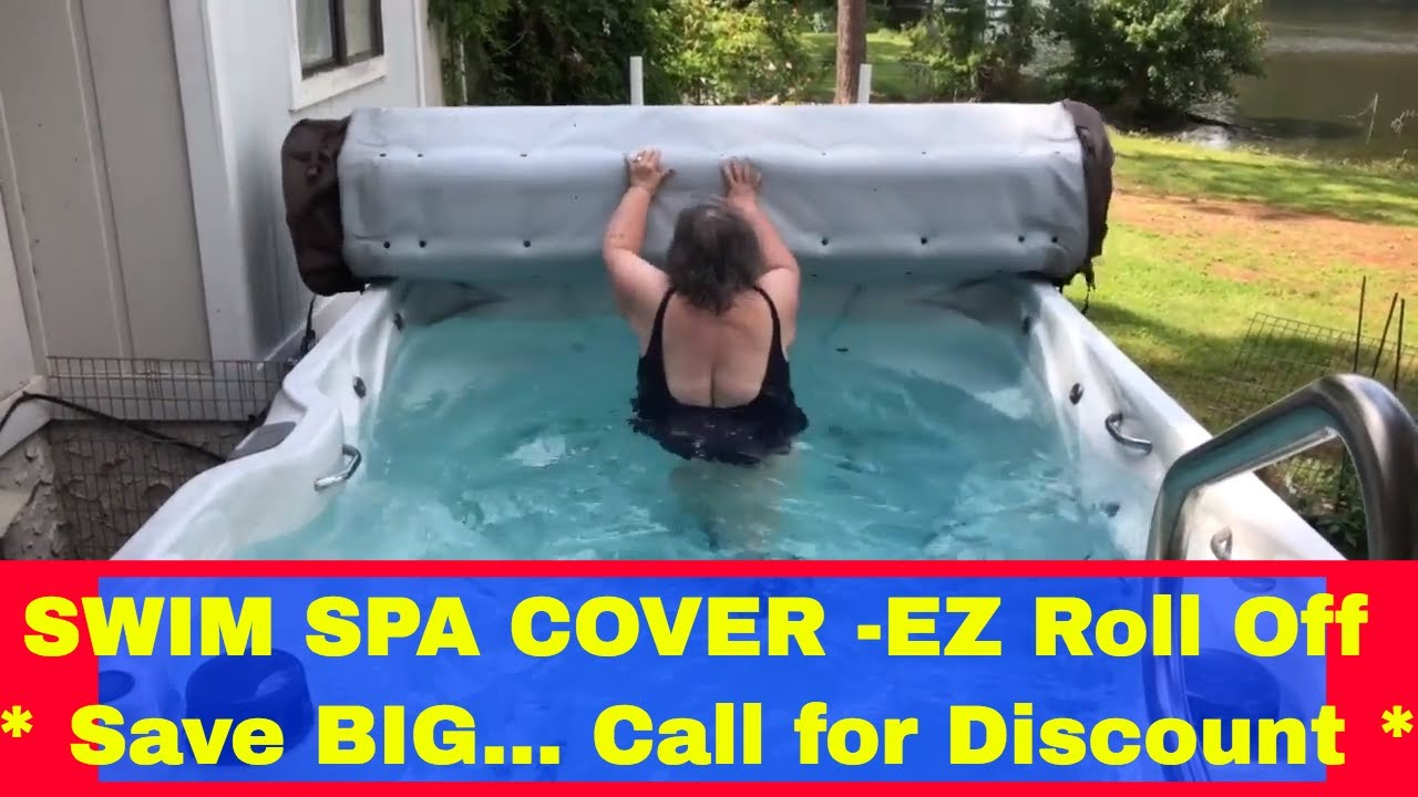 The Ez 30 Second Source Choice Roll Off Swim Spa Cover
