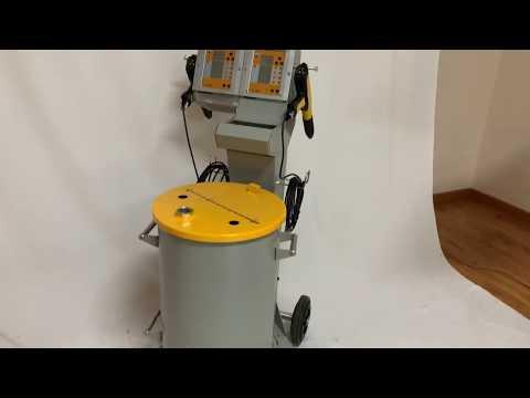 Dual Powder Coating Units System / Double Guns Powder Coating Equipment