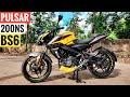 Bajaj Pulsar NS 200 BS6 Detailed Ride Review | Mileage | Price | Top Speed
