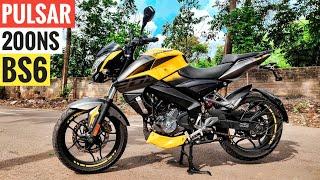 Bajaj Pulsar NS 200 BS6 Detailed Ride Review  Mileage  Price  Top Speed