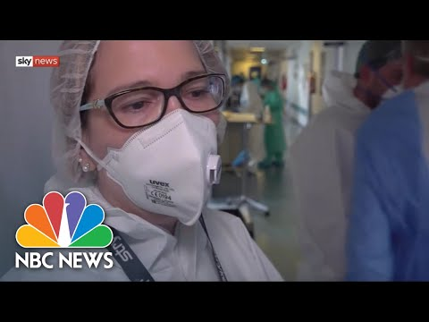 'A Tsunami': Doctor In Italian Hospital Describes Crush Of Critically-Ill Patients | NBC News