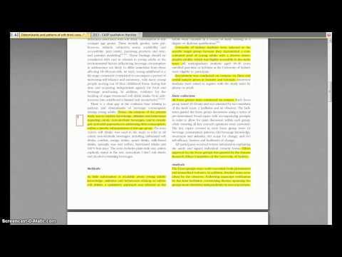 Critical Appraisal of a Qualitative Study