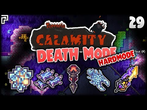 NEW Update & Some Cryonic Upgrades! | Terraria Calamity Mod Death Mode Let's Play [Episode 29]