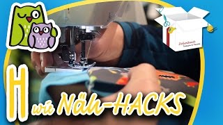 Näh HACKS | Nählexikon A-Z #8 | Nähschule Anleitung Nähen lernen für Anfänger