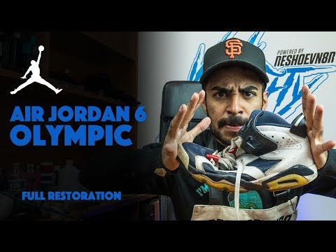 Air Jordan 6 Olympic Restoration By Vick Almighty!