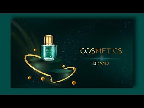How to design cosmetics Banner design in adobe photoshop graphic design