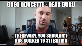 Greg Doucette Schools Eric Kanevsky Over His Cycles... Again!
