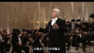 Dmitri Hvorostovsky - Frondi tenere... Ombra mai fu (Japan 2005) HD