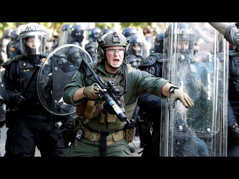 Fears US Riots Will End With Martial Law, People 'shot By Military'