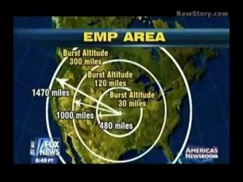 EMP Bomb Threat Scenario