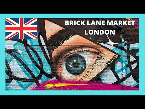 LONDON, the wonderful BRICK LANE MARKET, ENGLAND
