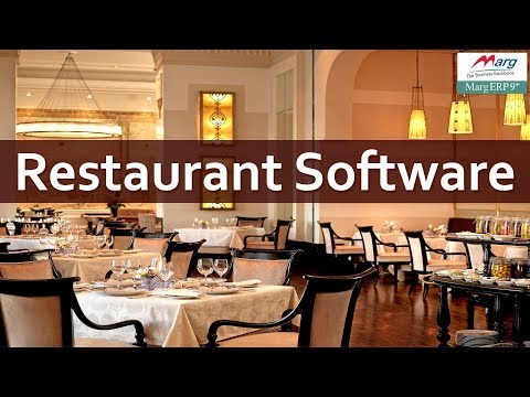 "Restaurant Software for Billing & Pos Management | Free Download ""Marg Software"" [English]"