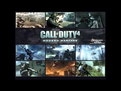 Call Of Duty 4 Modern Warfare OST - Game Over