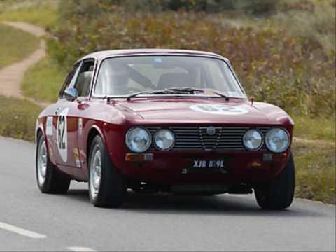 Alfa Romeo Classic Race Car Gtv Youtube