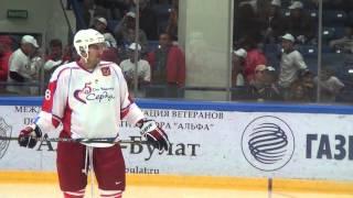 Александр Радулов сыграл в воротах в матче Ковальчук-тим - Малкин-тим. Часть I