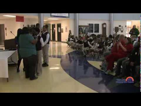 Foster Traditional Academy Tie Ceremony
