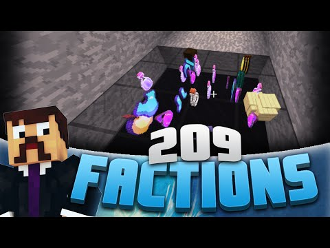 Minecraft Factions #209 - Trapping The Whole Server! (Minecraft Raiding)