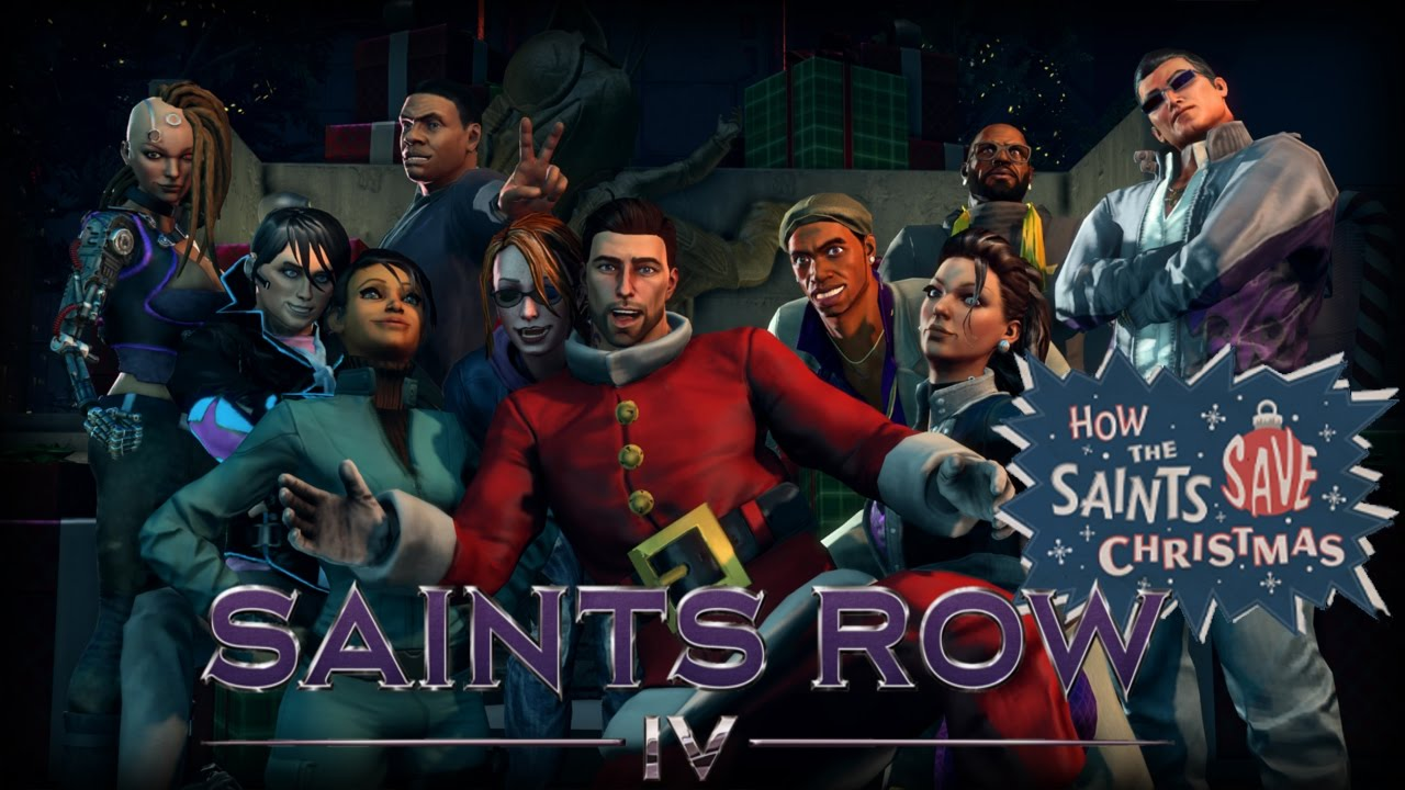 I REFUSE (Saints Row 4: How The Saints Save Christmas Ep. 2 w ...