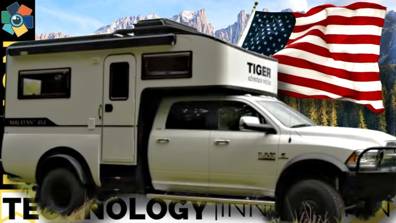 10 Impressive Truck Bed Campers Made In The Good Ole U S A Youtube