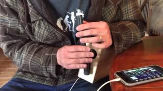 Homemade electronic bagpipes