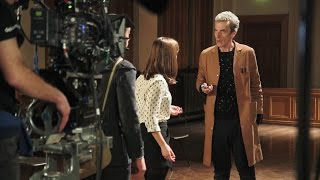 the caretaker doctor who extra series 1 episode 6 2014 bbc