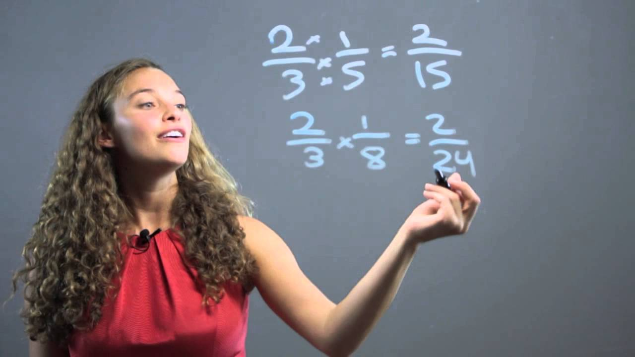 Teaching Multiplication of Fractions for 6th Graders : Math Concepts ...