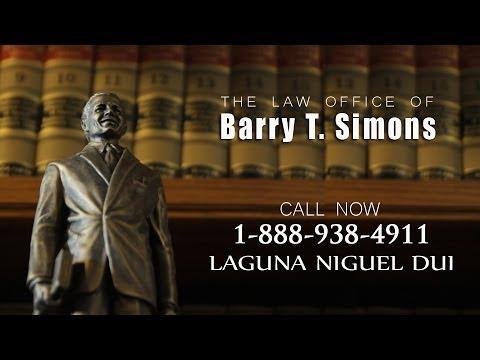 Laguna Niguel DUI Lawyer, DUI Attorney Laguna Niguel