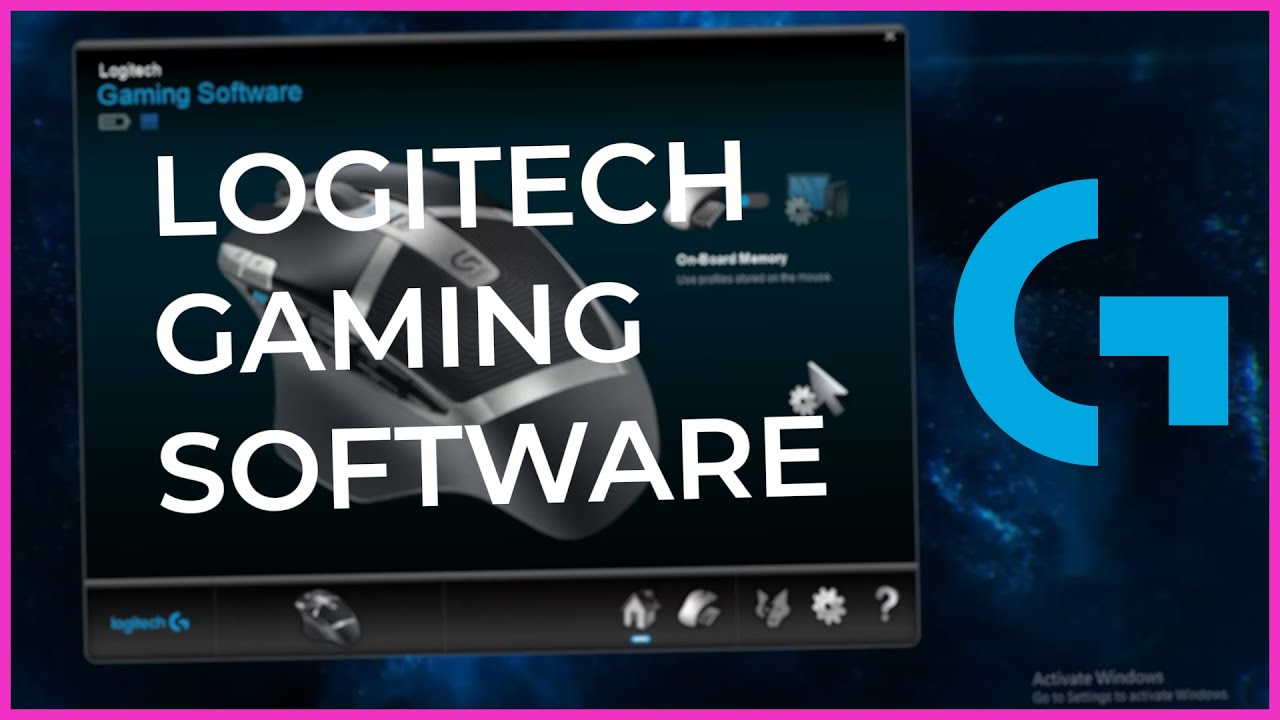 Logitech Gamimg Software 7 0 X64 ONLY 2019 Ver.9.6 Included