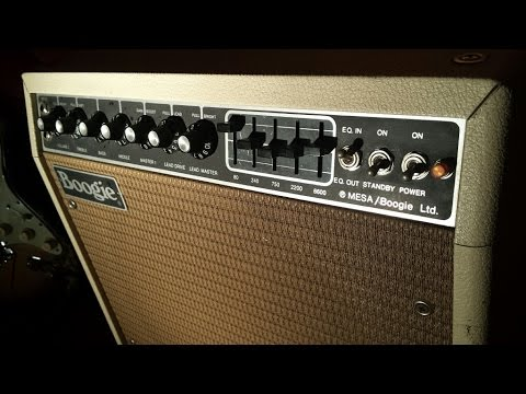 Testing a 1981 Mesa Boogie Mark Mk 2B (no Mark 2C+), lead Ch. with an old Strat