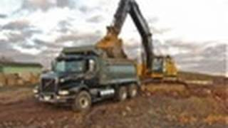 D13 Power ~Volvo Dump Truck.Test Ride