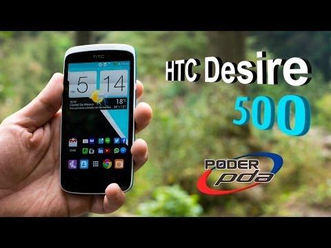 HTC Desire 500 - Análisis en Español HD