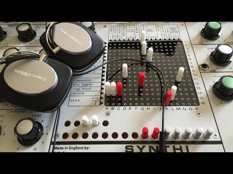 EMS Cornwall Synthi A sounds