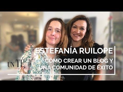 Cómo montar un Blog con Éxito desde cero con los consejos de ESTEFANÍA RUILOPE - Un Té con Paloma