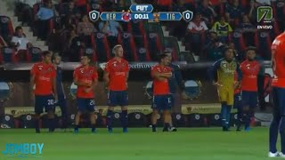 Veracruz give up two goals while protesting, a breakdown